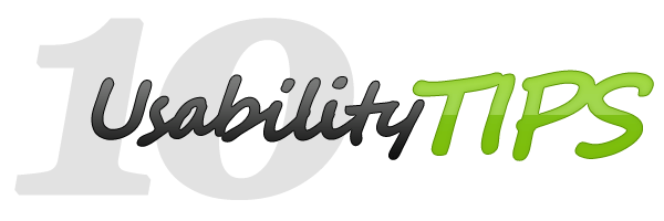 Usability Tips for your website or web application