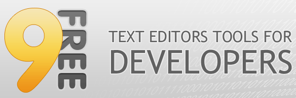 Free text editors tools