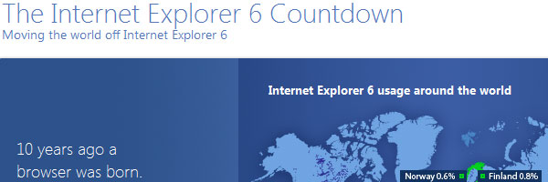 IE6 countdown