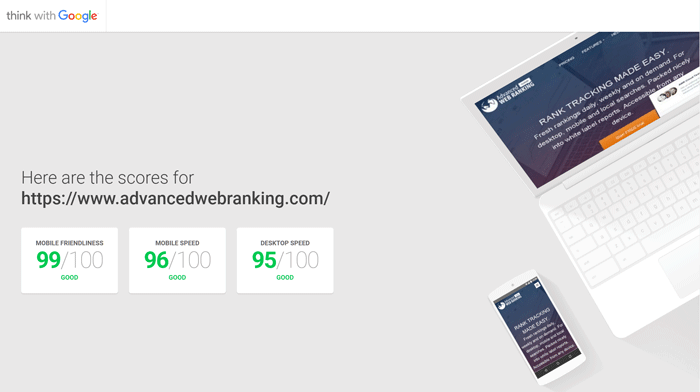 Advanced Web Ranking redesign